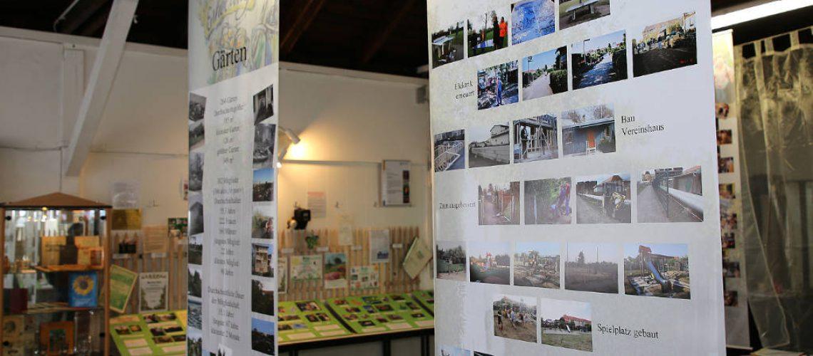 Die Ausstellung präsentierte die 120-jährige Vereinsgeschichte auf anschauliche und interessante Weise -  Foto: Norman Zwanzig